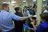 Навальный и Офицеров прощаются с женами