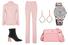 Жакет, брюки – все, Altuzarra; серьги, Monica Vinader; часы, Rolex; ботильоны, Ellery; сумка, Prada