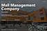 20. Mall Management Company