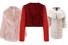 Розовая шуба, Miu Miu; красная шуба, Givenchy; белая шуба, Braschi