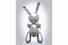 2. Джефф Кунс, скульптура «Кролик» (Rabbit)