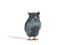Декоративная сова из серого агата и золота с драгоценными камнями, Фаберже, 1899-1904, £10 000 — 15 000