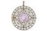 Золотая подвеска-брошь с фиолетовым сапфиром и бриллиантами, Фаберже, с клеймом мастера Августа Холмстрома, около 1890, £3 000 — 5 000