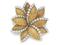 Золотая брошь с бриллиантами, Van Cleef&Arpels,  $12 000-$18 000