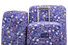Чехол для чемодана Routemark с паттерном задизайненным в Студии Артемия Лебедева