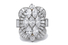 Кольцо, Tiffany & Co., платина и бриллианты, 1939–1952