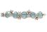 Браслет «Листья и цветы», аквамарины и бриллианты, дизайн Жана Шлюмберже, Tiffany&Co, $40 000-$60 000