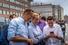 Основатель Фонда борьбы с коррупцией Алексей Навальный, Юлия Навальная и Илья Яшин