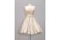 Платье Emilio Sсhuberth, вечернее платье из кремового атласа, с кружевом и вышивкой, 1959 год, €4 000-6 000