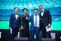 Виктор Седов (слева), Центр предпринимательства, Ольга Булатова, EY, Эдуард Остроброд, SELA, и Михаил Романов, EY.