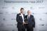 Обладатель титула «Предприниматель года — 2017» в России Михаил Кучмент, Hoff, и Александр Ивлев, EY.
