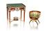 Фаберже, миниатюрные кресло-бонбоньерка и стол-бонбоньерка из золота и эмали, £800 000–1,2 млн каждый