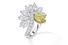 Кольцо Eagle с желтым бриллиантом, Harry Winston