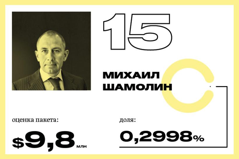 15. Михаил Шамолин