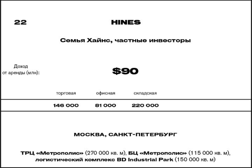 22. Hines