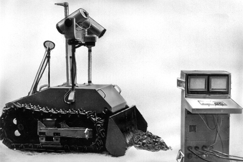Тяжелый гусеничный робот ТР-Г2