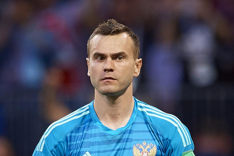 Игорь Акинфеев, 33 года