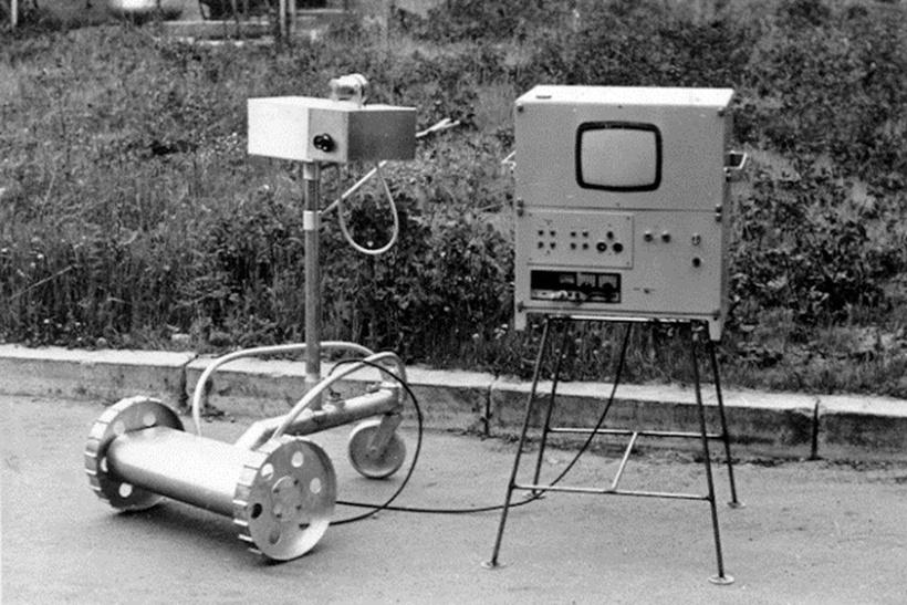 Колесный робот-разведчик РР-1