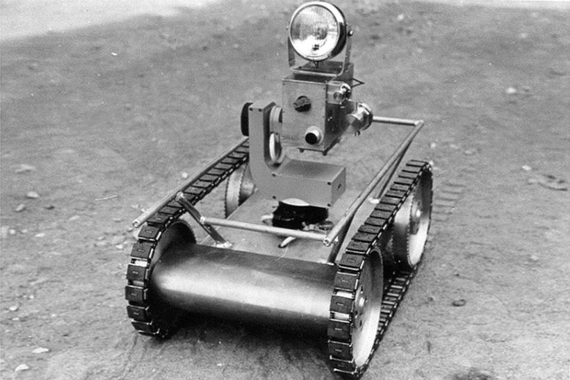 Гусеничный робот-разведчик РР-Г1