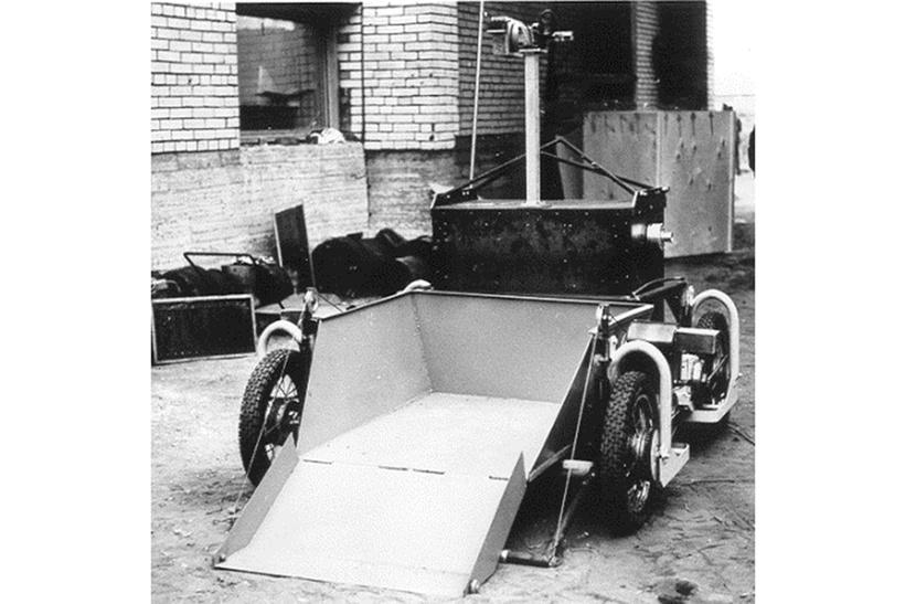 Робот-бульдозер ТР-А1