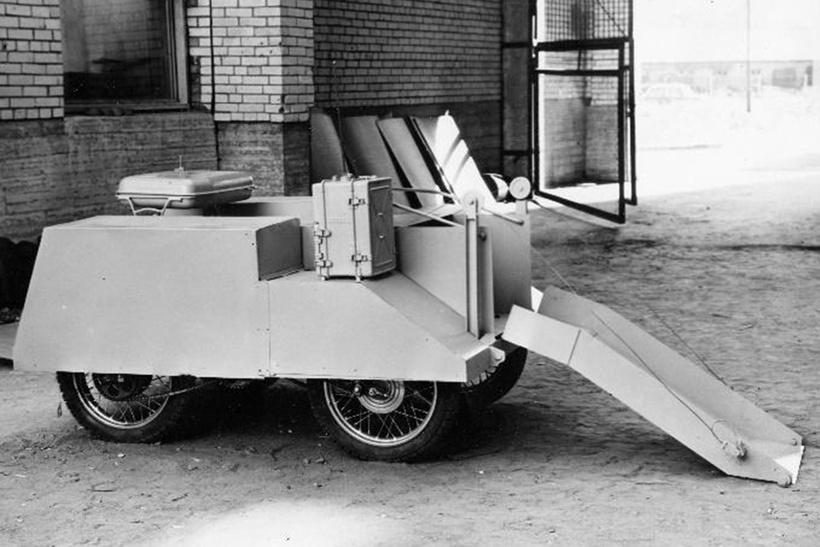 ТР-Б1, укомплектованный          навесным рабочим инструментом