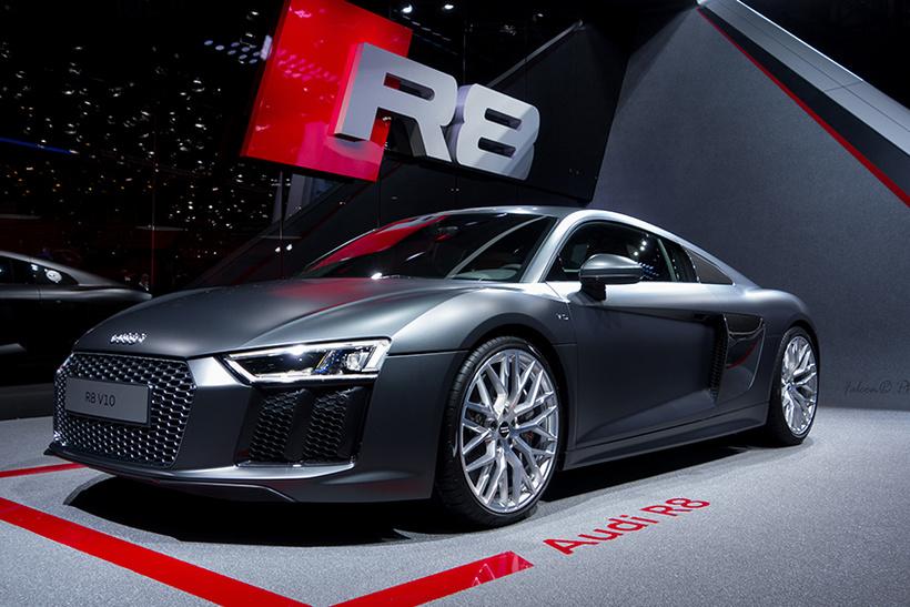 Ларри Эллисон и Audi R8