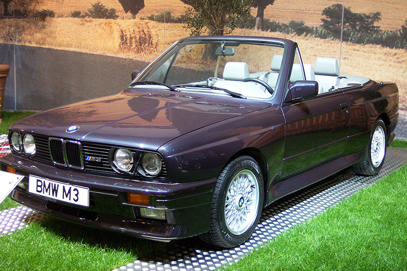 Трэвис Каланик и BMW M3 Evolution Convertible