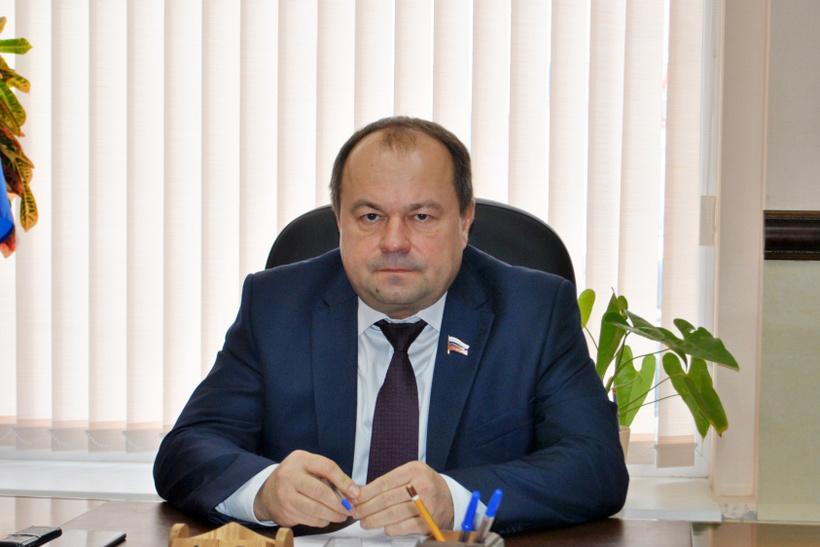 Жена депутата Воронежской областной думы Андрея Благова (на фото)