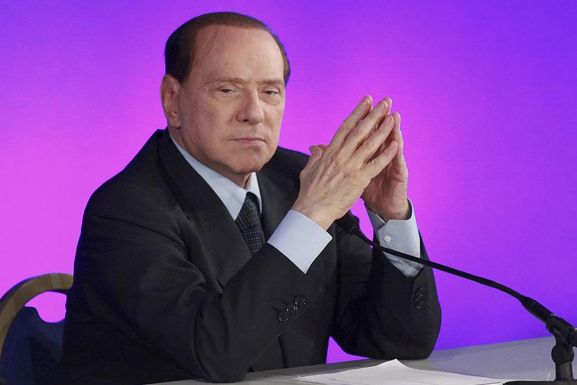 Отставка Сильвио Берлускони с поста премьера Италии