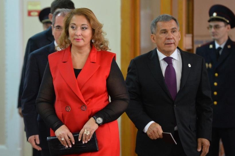 Гульсина Минниханова, жена президента Татарстана Рустама Минниханова