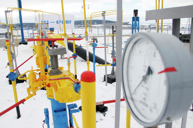 Магистральный газопровод Краснодарский край–Крым — 10 млрд рублей