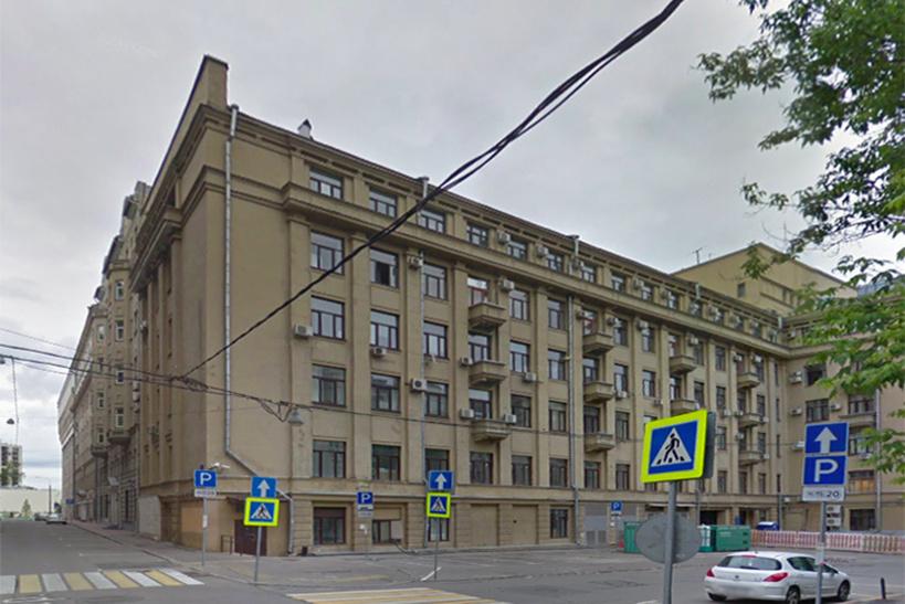 Здание в Уланском переулке