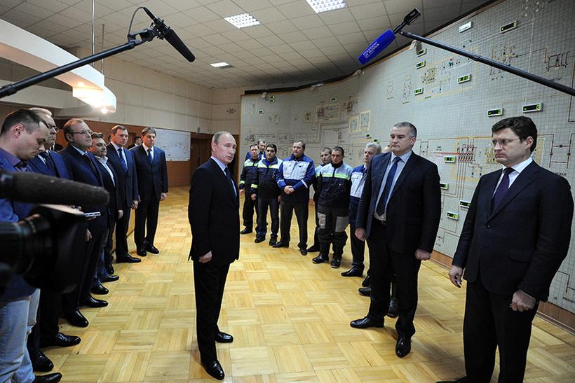 Энергомост в Крым — 46,7 млрд рублей