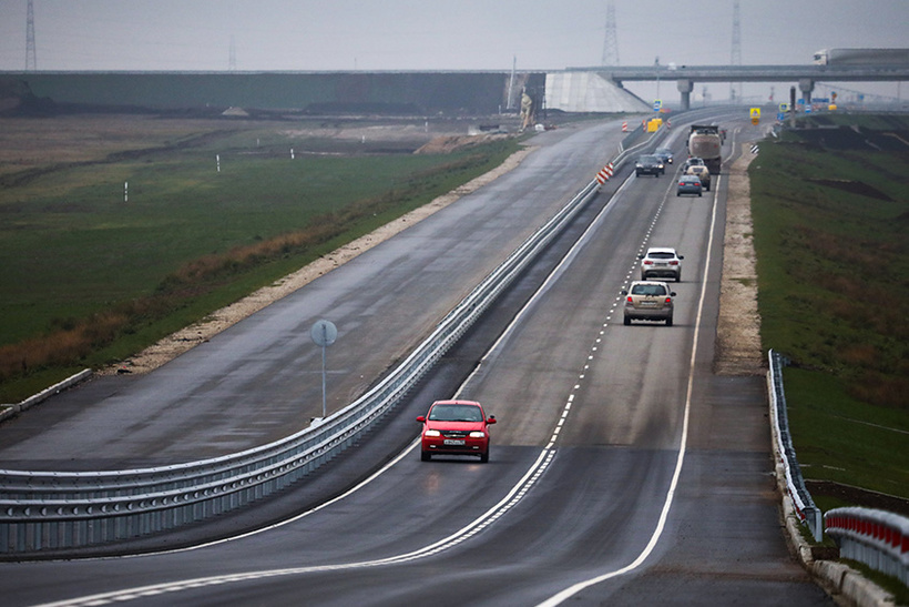 Трасса «Таврида» — 151,7 млрд рублей
