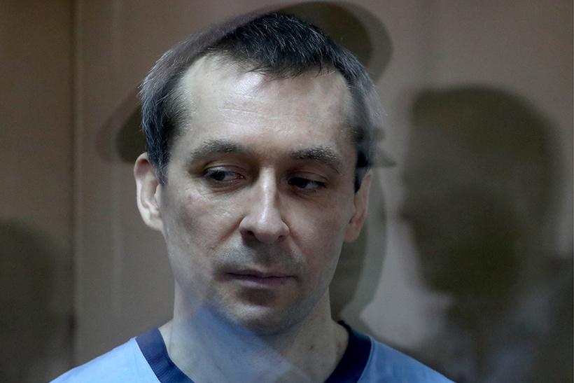 Экс-руководитель управления «Т» ГУЭБ и ПК» Дмитрий Захарченко