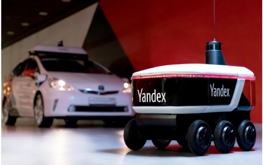 «Яндекс» начал испытания беспилотного робота-курьера