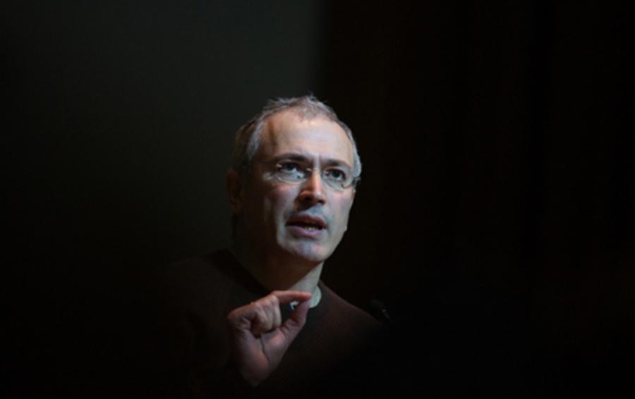 Михаил Ходорковский в Киеве, 2014 год