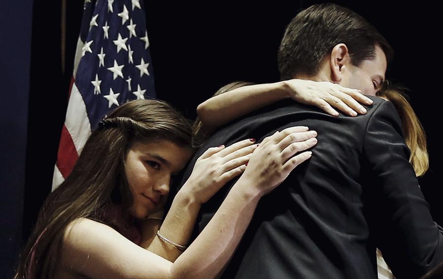 Республиканец Марко Рубио вышел из борьбы за пост президента США.