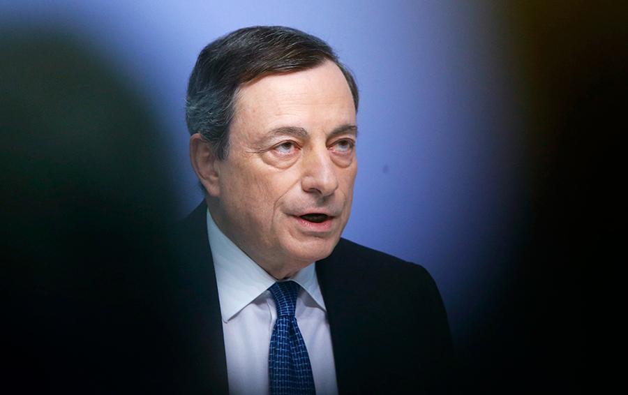 Глава Европейского центрального банка Марио Драги.