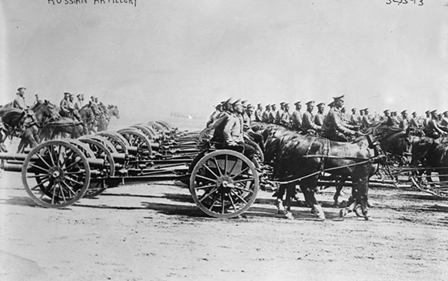 Многомиллионные армии Первой мировой требовали непрерывного снабжения боеприпасами