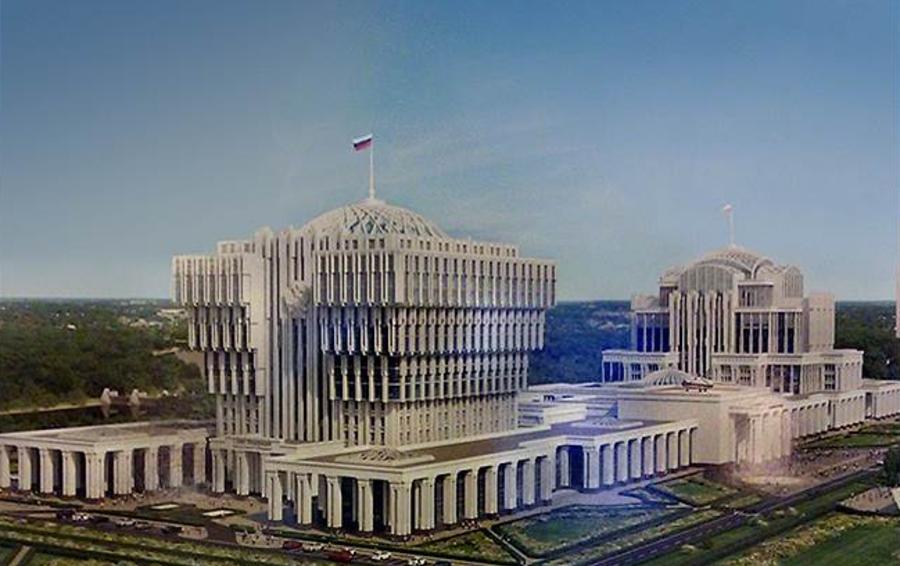 Фаворит конкурса, проект ОАО «Моспроект-2» (гендиректор Михаил Посохин)