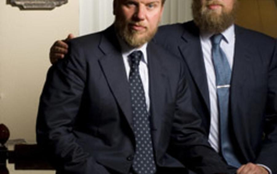 Алексей (слева) и Дмитрий Ананьевы
