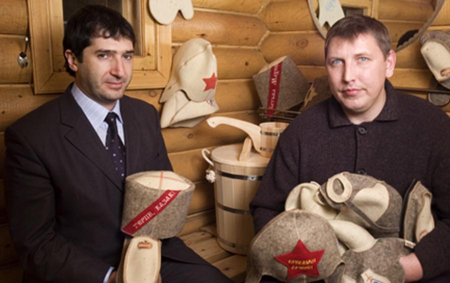 Габриелянов и Сидоров продают банных шапок и руковиц на $2,7 млн в год