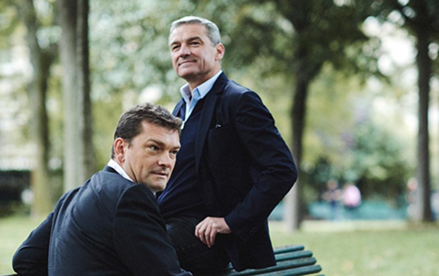 Филипп (слева) и Жак Дер Магредичяны