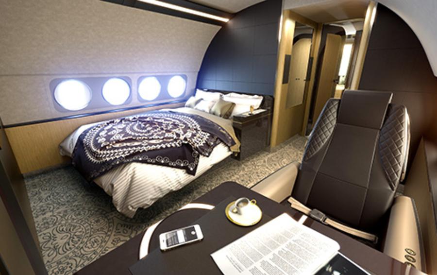 Некоторые пассажиры требуют в воздухе того же уровня комфорта и роскоши, к которому они привыкли на земле