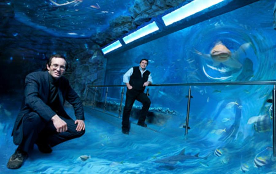 Борис Польгейм (на фото справа) и Алексей Казакевич