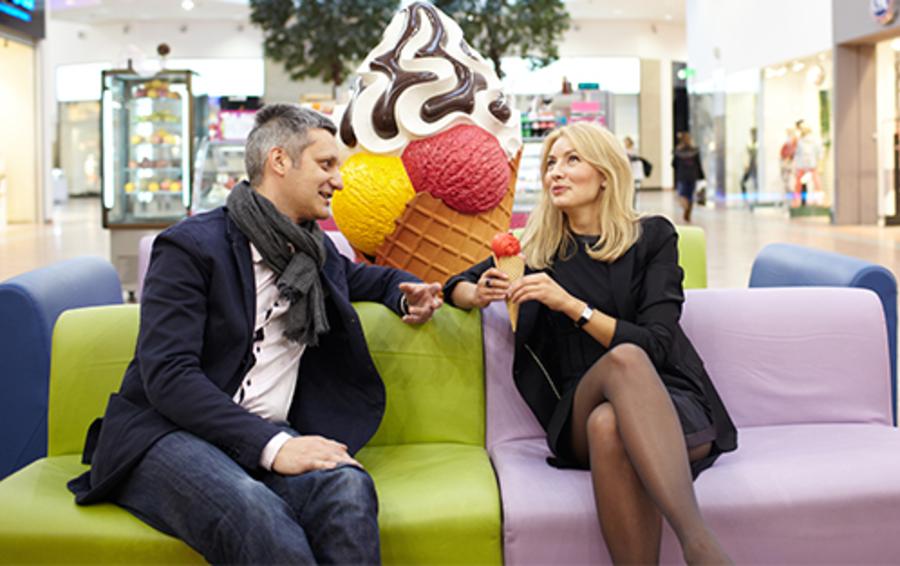 Бизнес Аркадия Медведева и Ольги Фрунзе начался с дегустации мороженого