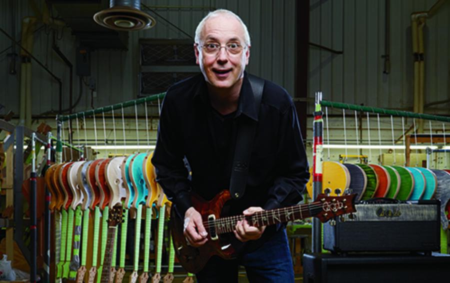 Фабрика Пола Смита делает в год до 13 000 гитар, их средняя цена - $3000
