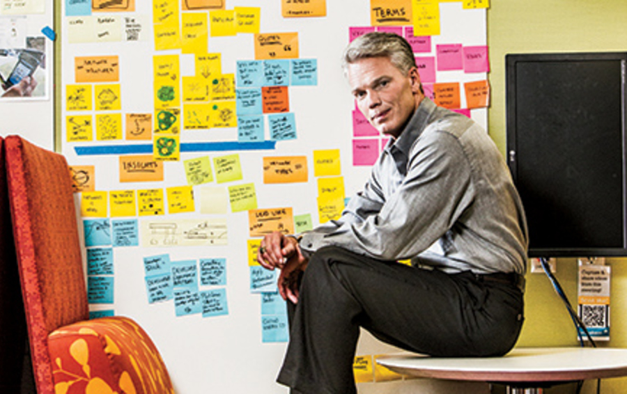 Гендиректор Intuit Брэд Смит (на фото) хочет, чтобы сотрудники думали как владельцы бизнеса