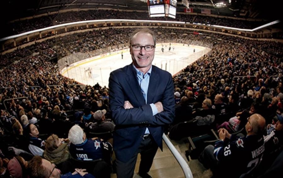 Генеральный менеджер клуба НХЛ Winnipeg Jets Джим Ладлоу